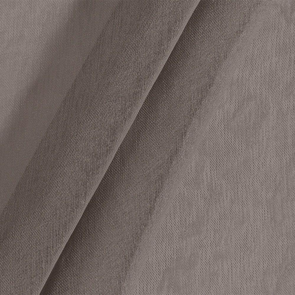 Cortina blackout com voil linho 3,00m x 1,70m Taupe - Bella Janela