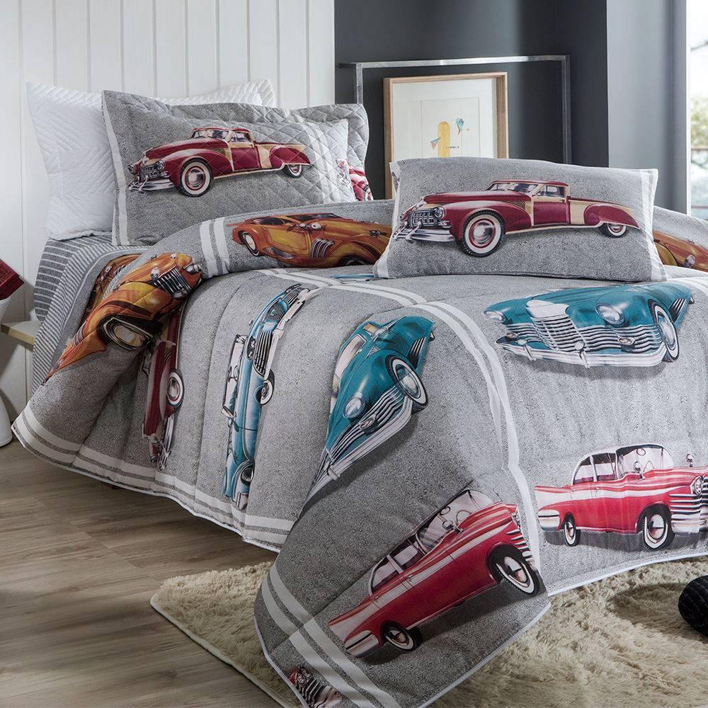 Jogo de cama solteiro duplo - Cars 2 - Sultan