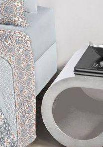 Jogo de cama queen size Royal Malai 100% algodão estampado Mandala - Santista