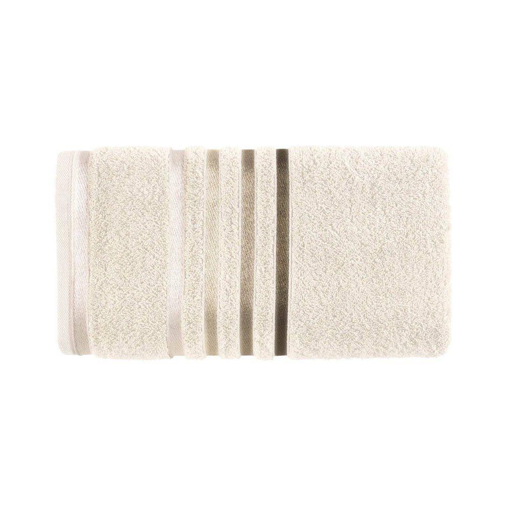 Toalha de banho Lumina - Ivory/Marrom - Karsten