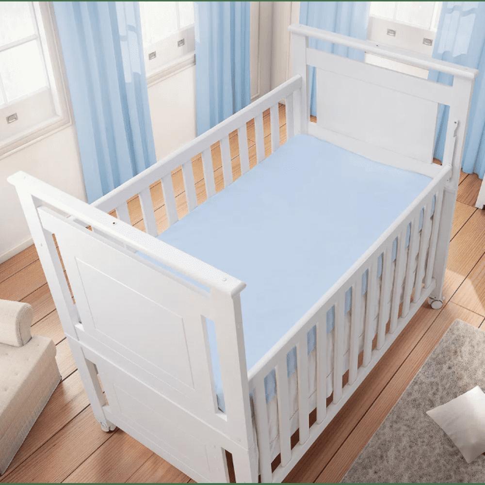Lençol com Elástico para Berço Americano 100% 150 fios algodão Essence - Baby Joy
