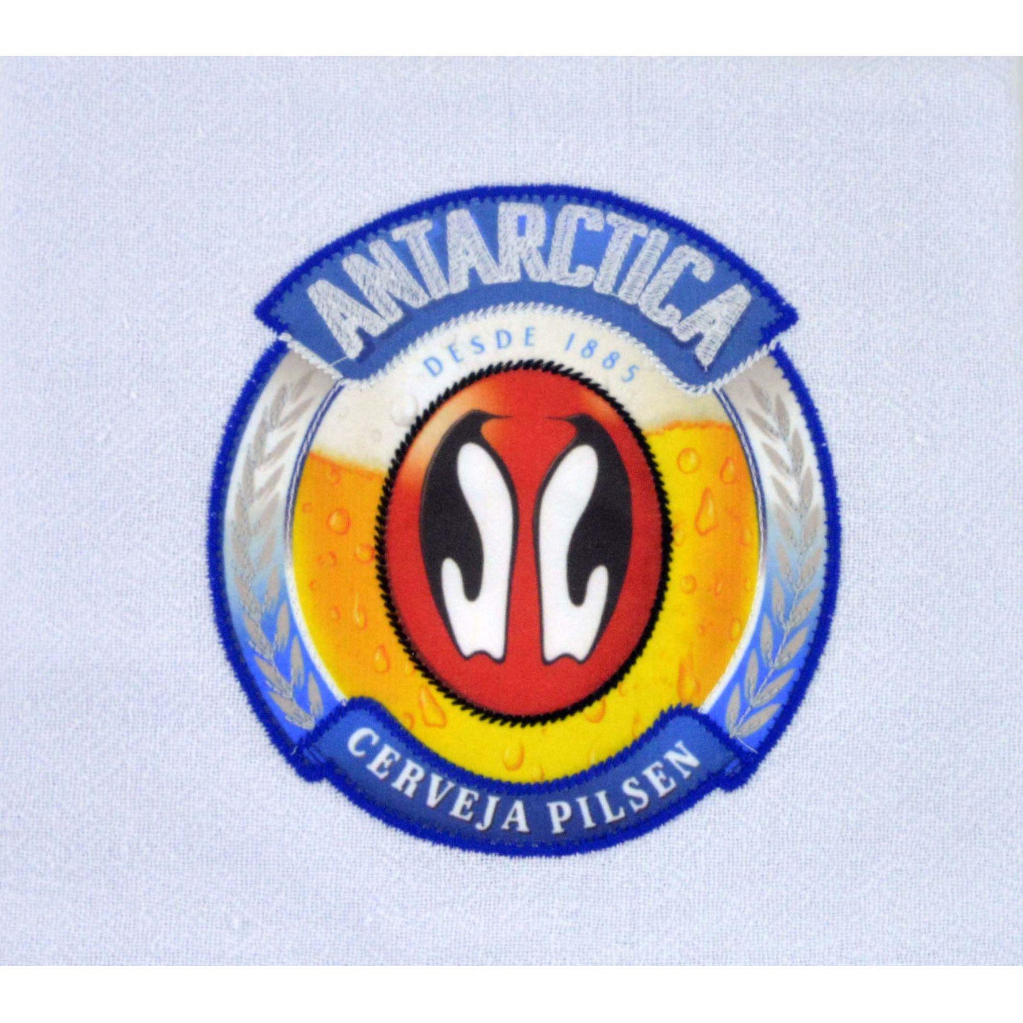 Pano de prato estampado cerveja Antarctica