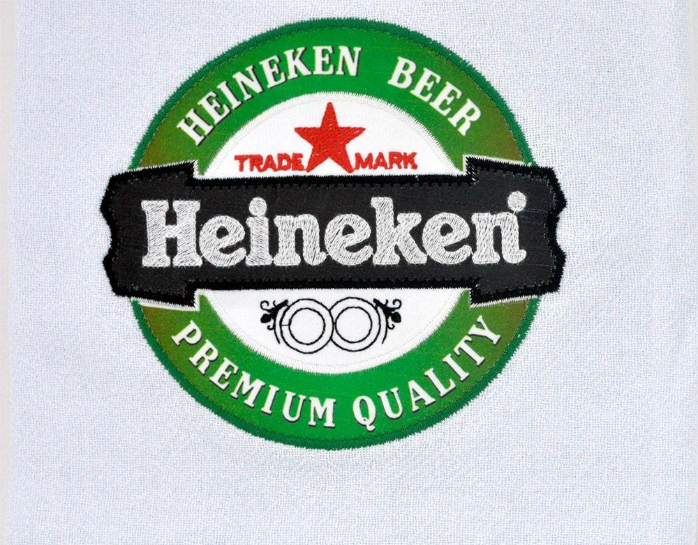 Pano de prato estampado cerveja Heineken