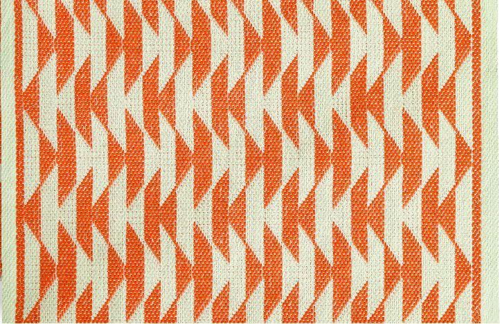 Tapete artesanal 47 x 70cm Caribe