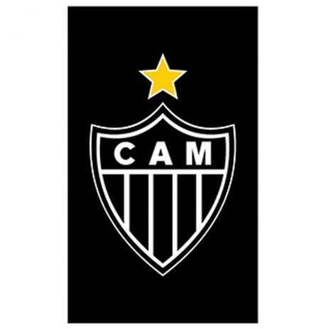 Toalha Buettner social estampada time Atlético Mineiro