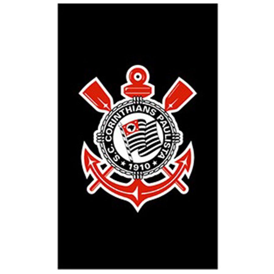 Toalha Buettner social estampada time Corinthians