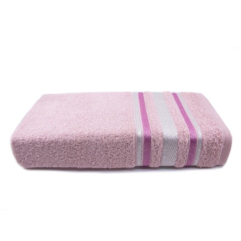 Toalha de Banho 100% Algodão Santista Serena - Rosa