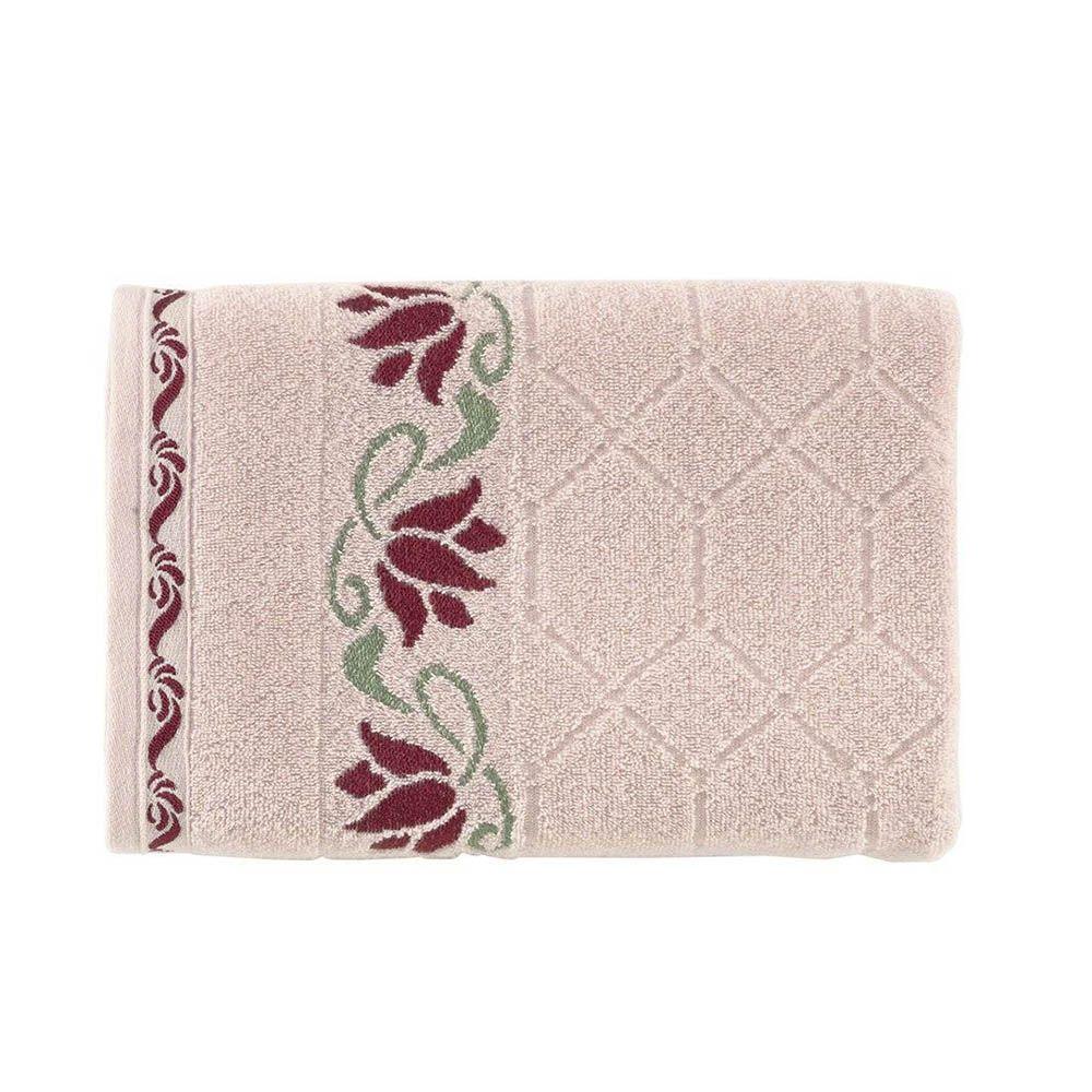 Toalha de banho Amarilis Rose/Vermelho - Kasten