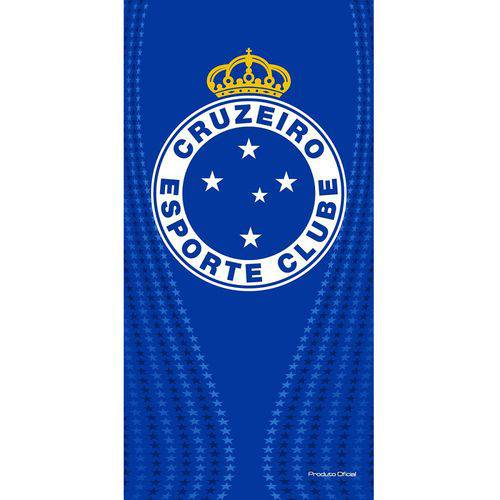 Toalha de banho Buettner estampada time Cruzeiro