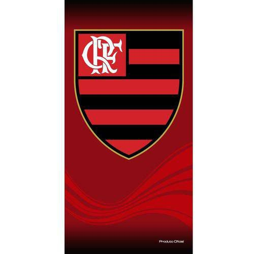 Toalha de banho Buettner estampada time Flamengo