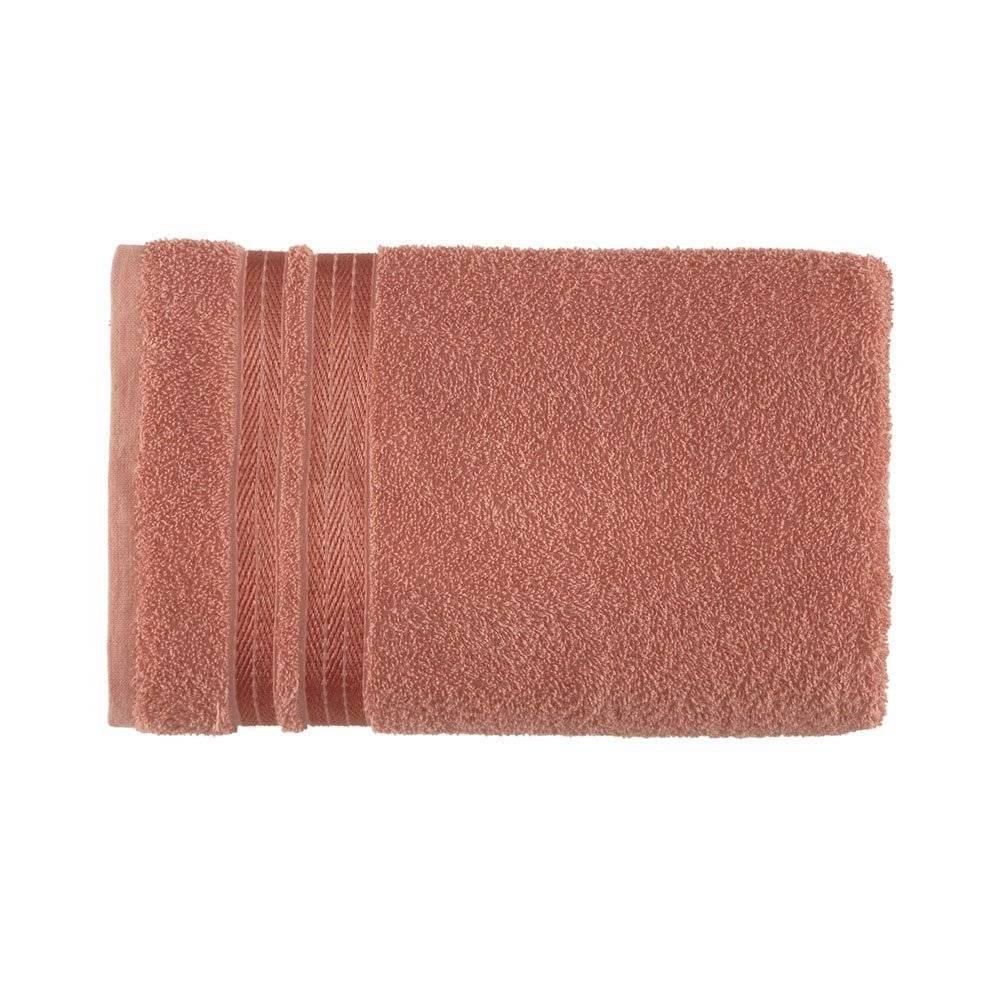 Toalha de banho Olivia terracota - Karsten