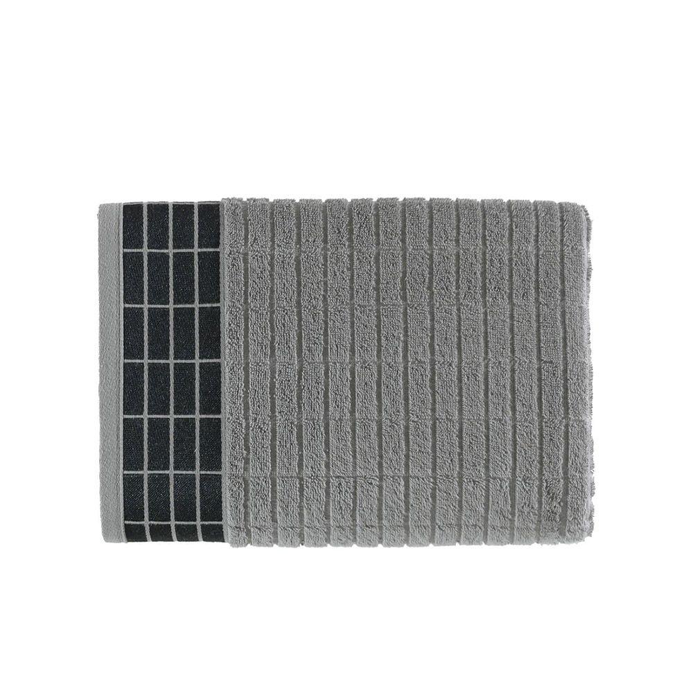 Toalha de banho Teodor Cinza Steel - Kasten
