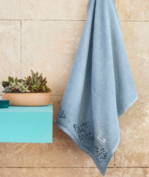 Toalha de banho Paula Trama Azul claro - Artex