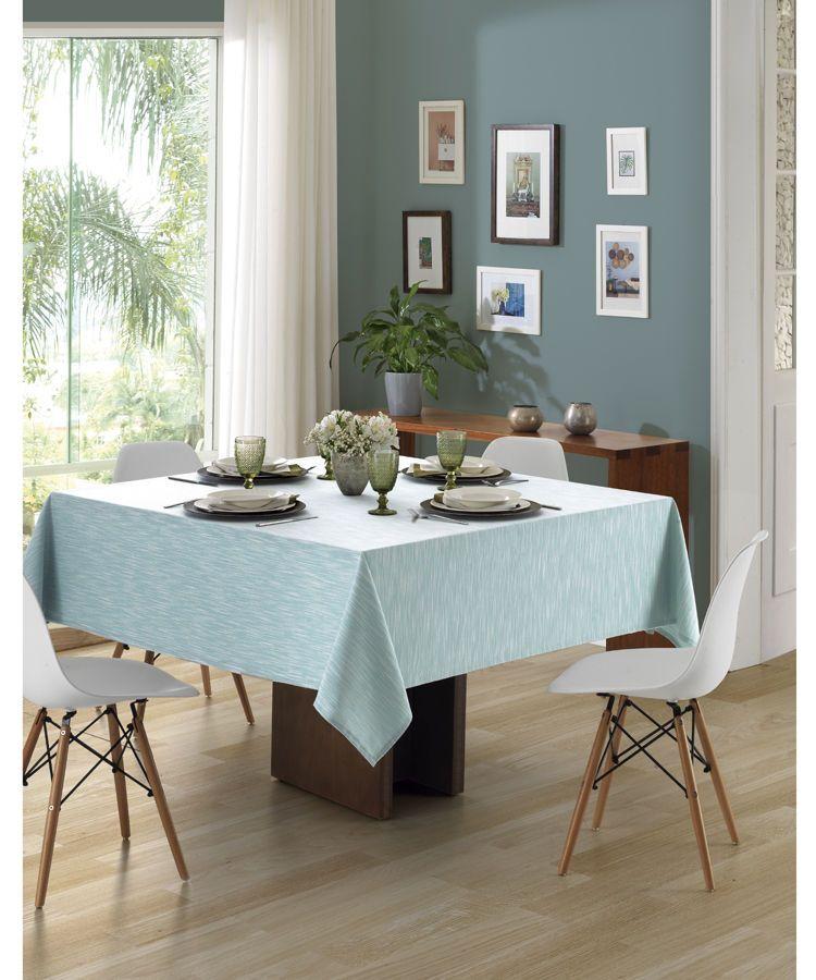 Toalha de mesa quadrada 4 lugares 1,60 x 1,60m Passion Dohler Clean 10838