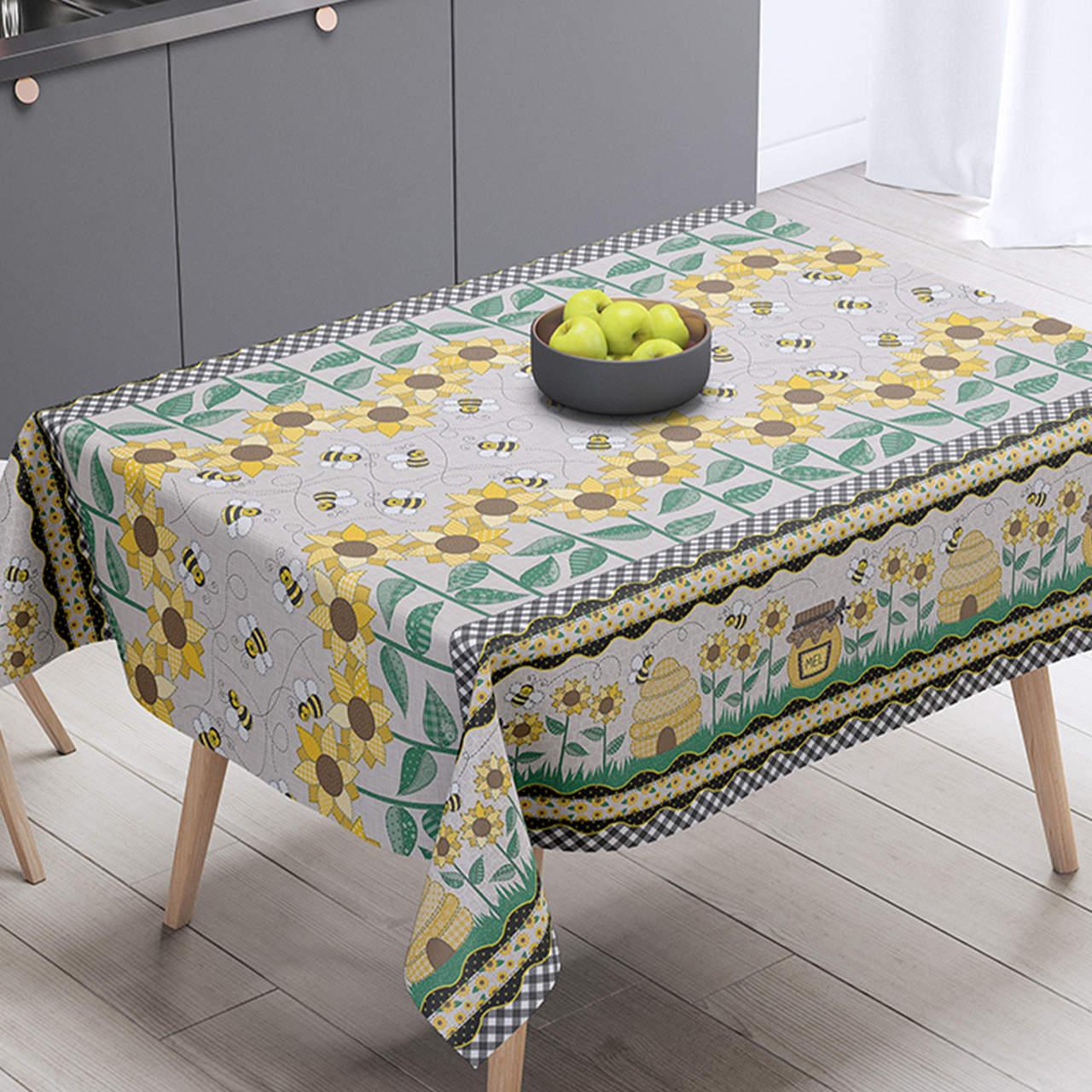 Toalha de mesa térmica Girassóis