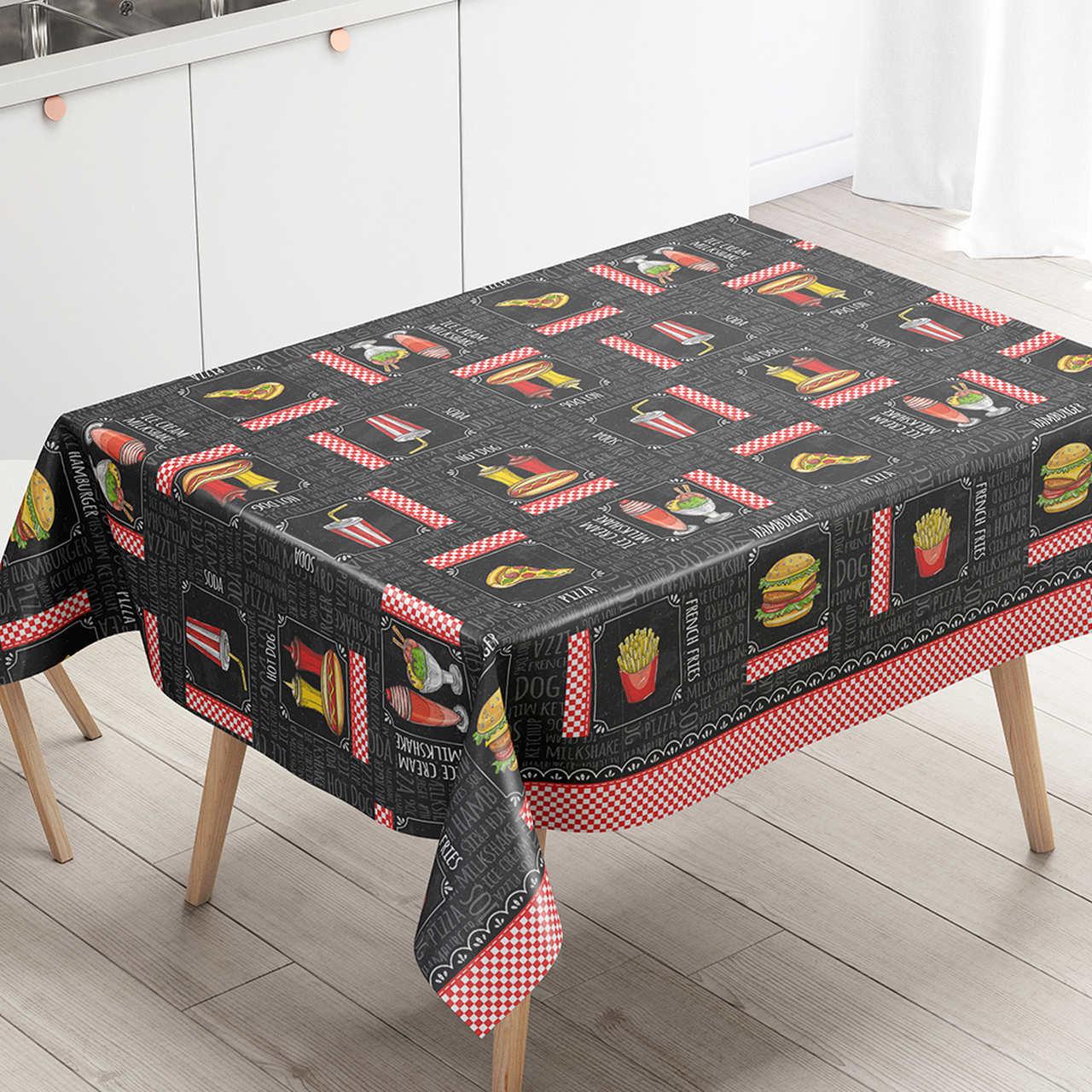 Toalha de mesa Térmica Lanchonete