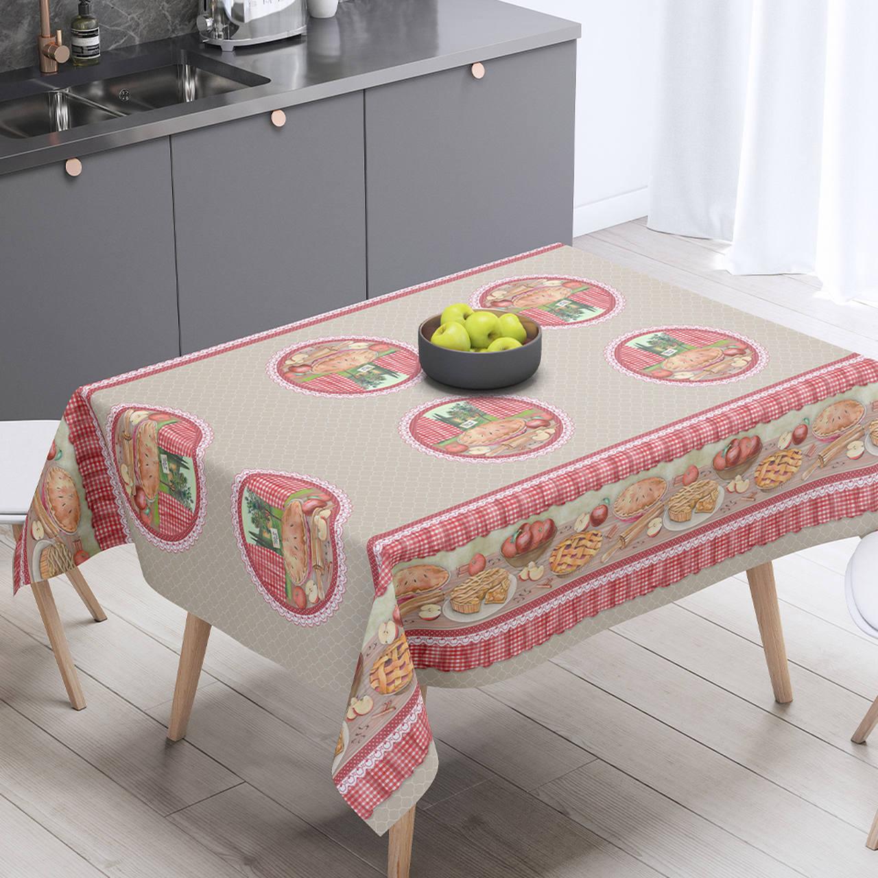Toalha de mesa térmica Torta de Maçã