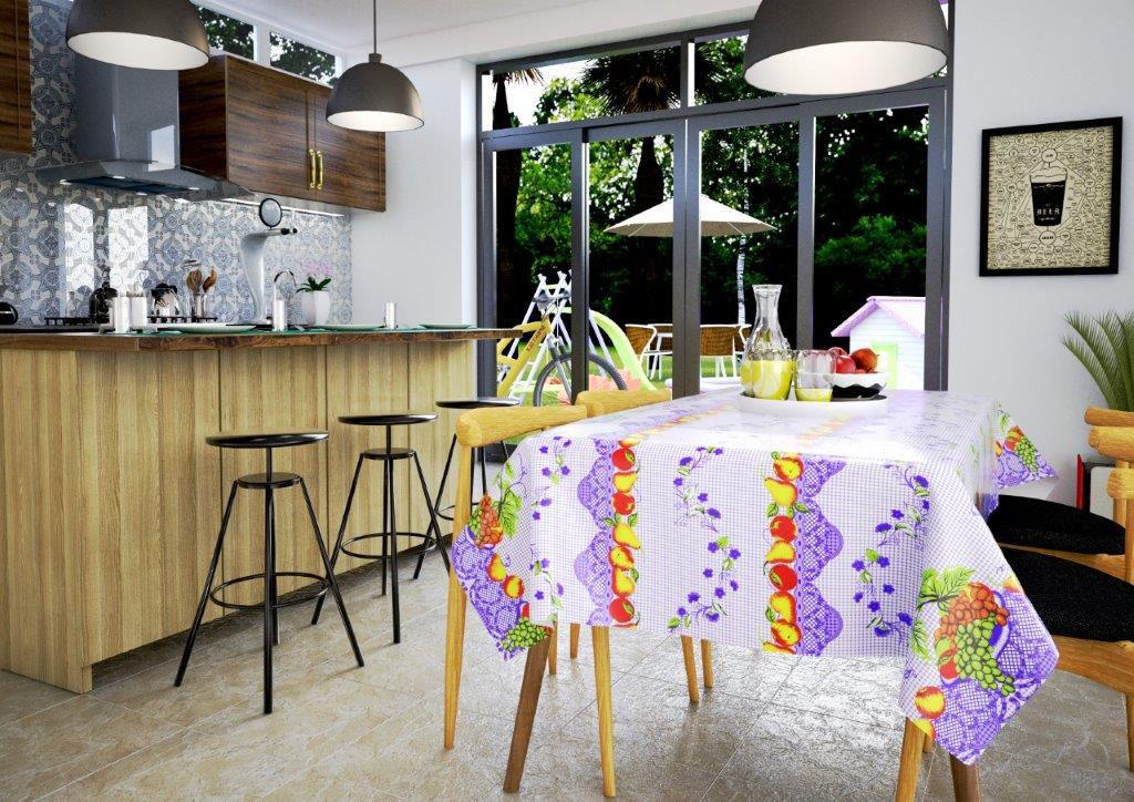 Toalha de mesa Térmica Uvas
