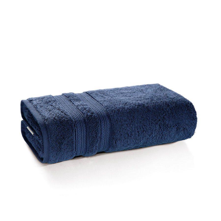 Toalha de rosto 100% algodão Unika Azul Marinho - Karsten