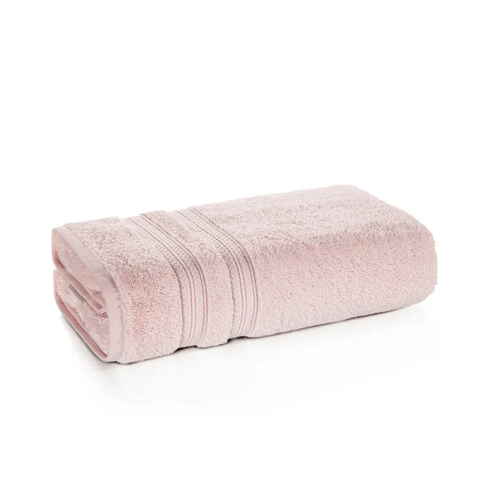 Toalha de rosto 100% algodão Unika Rosé - Karsten
