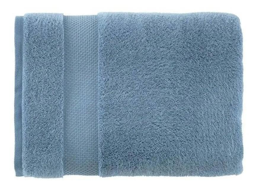 Toalha de Rosto Faces Azul - Karsten
