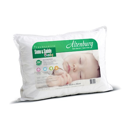 Travesseiro para bebê sono e saúde baby - Altenburg