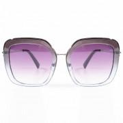 Óculos de Sol Lente Quadrada Laura Armação Degradê