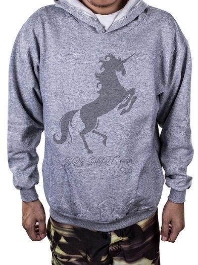 Blusa Moletom Estampa Estampado Fire Unicorn