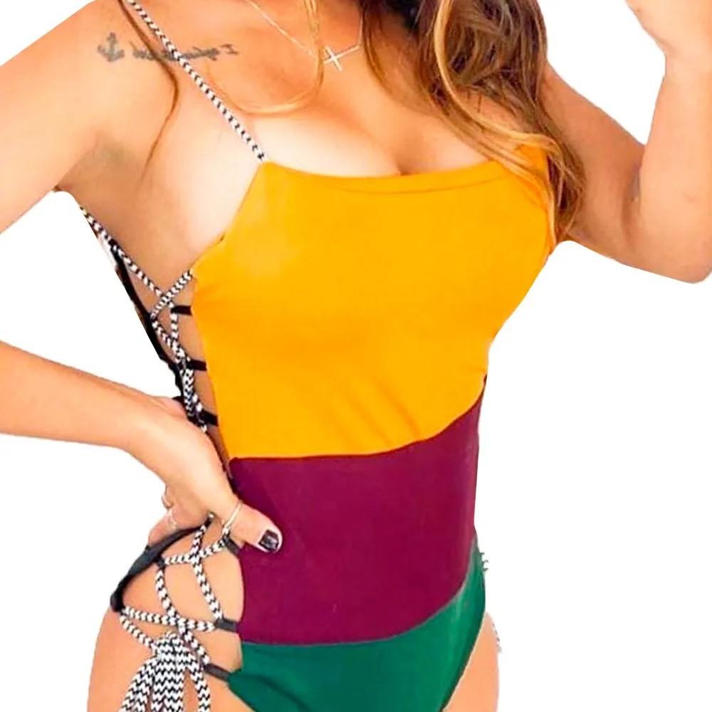 Body Feminino Colorido Anitta Abertura Lateral Verão