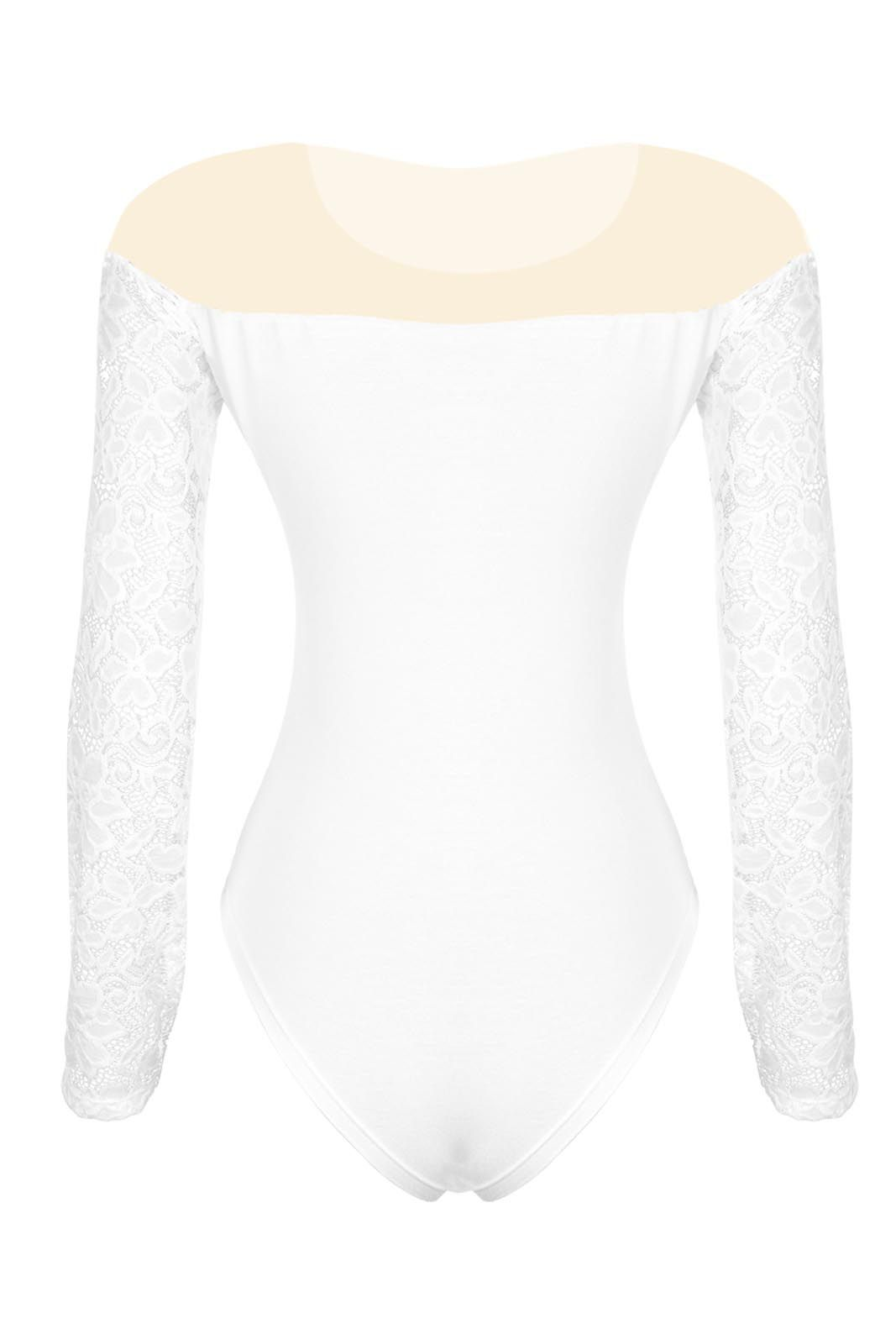 Body OutletDri Ml Renda Tule Branco