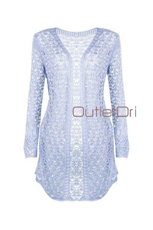 Conjunto Top E Kimono Feminino Curto Tricot Tricô 2018