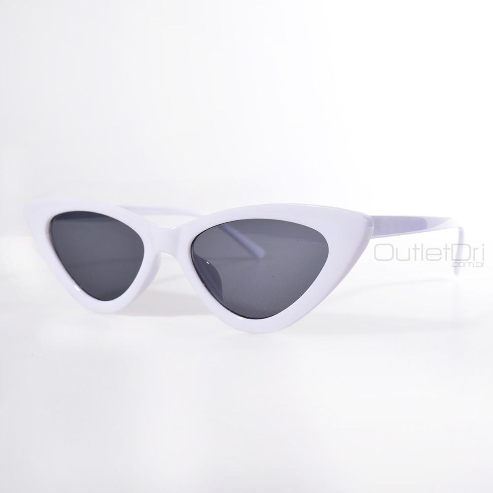 Óculos de Sol Gatinho Branco