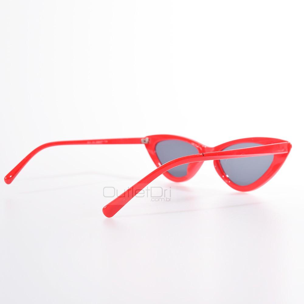 Óculos de Sol Gatinho Vermelho