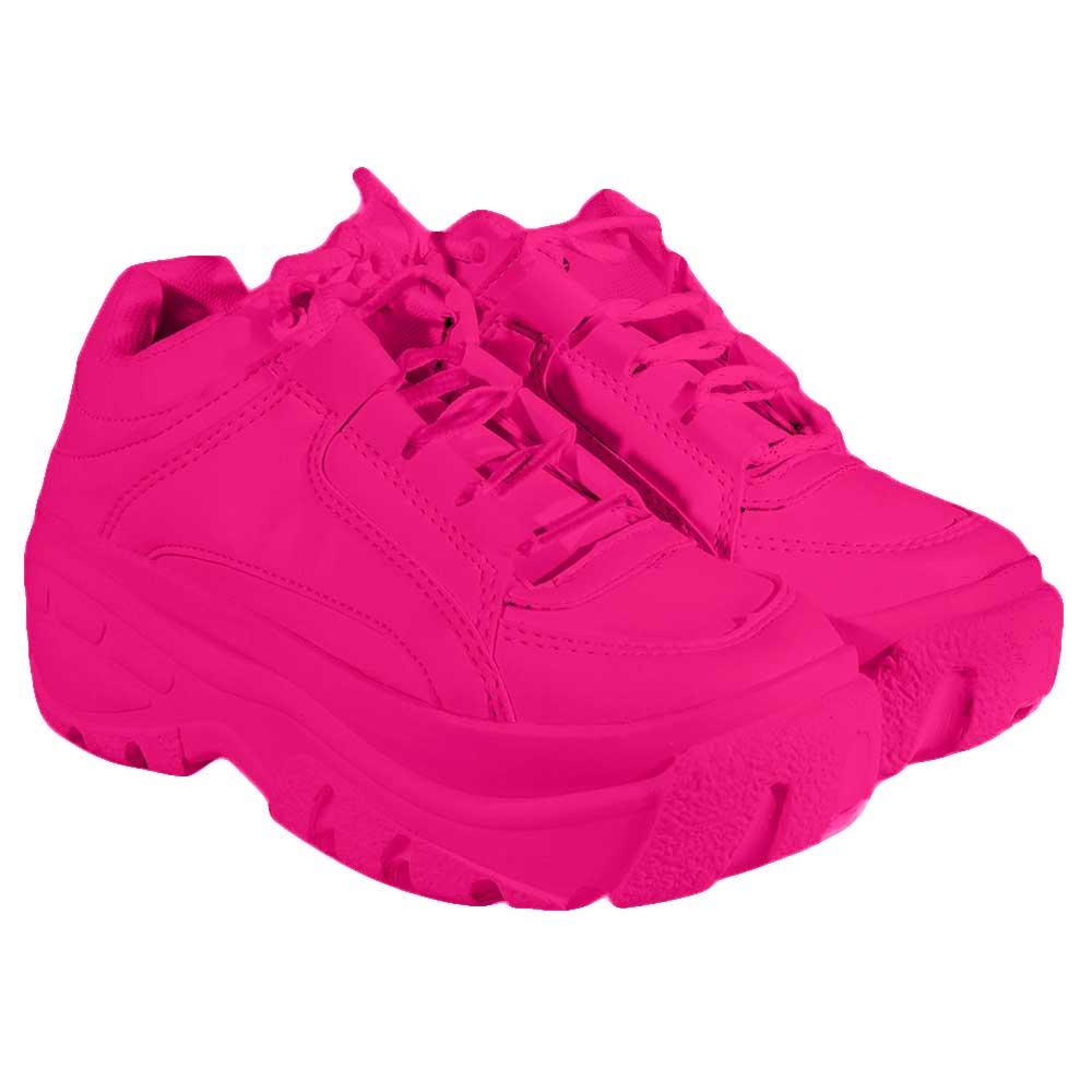 Tenis Bufalo Sneaker Rosa