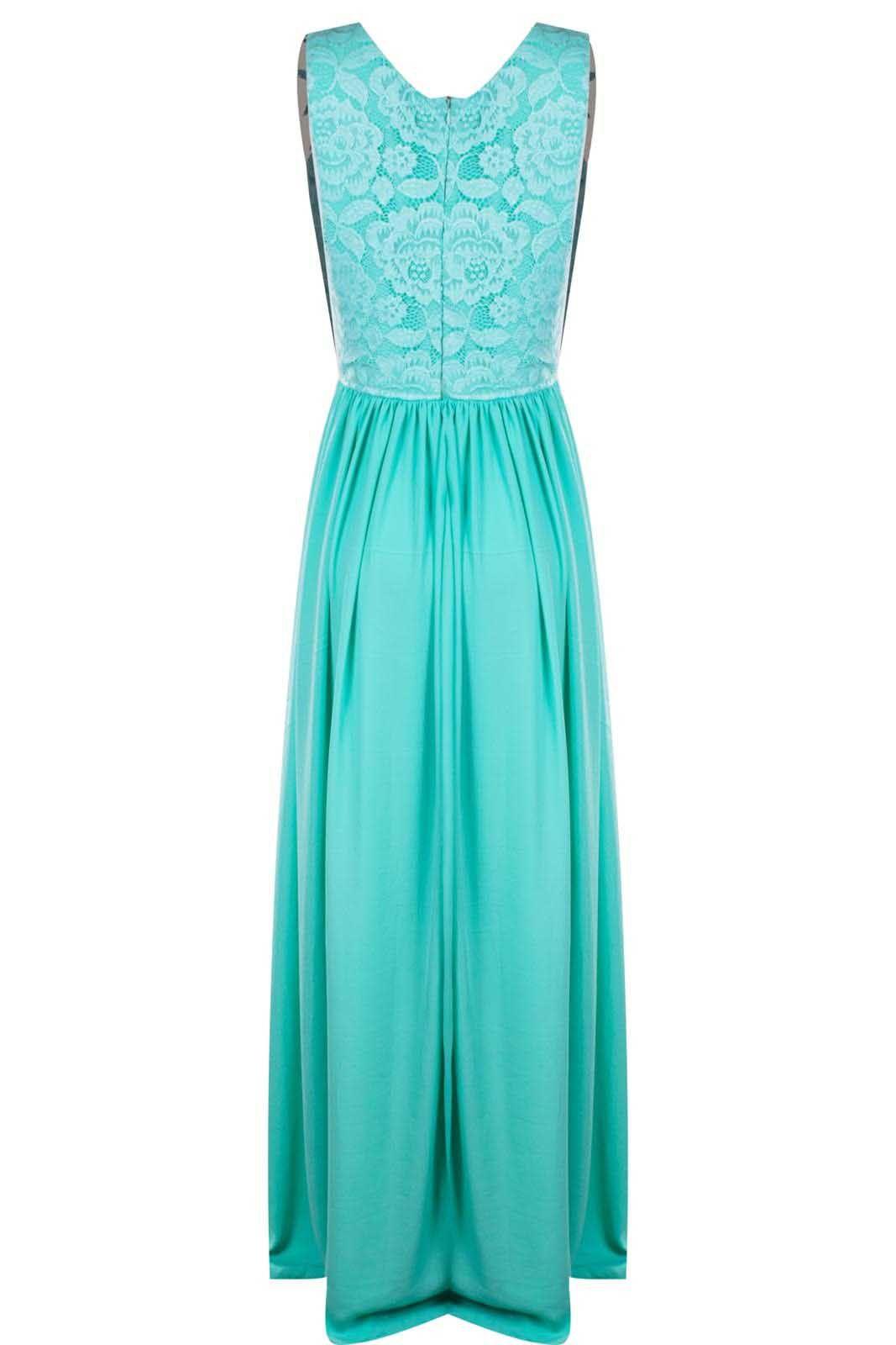 Vestido Outlet Dri Tubinho Festa Formatura Casamento Renda Forrada V Verde Tiffany