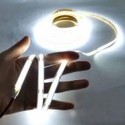 Fita de LED-COB flexível 12w 5m branco frio 6000k IP20