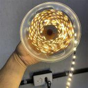 Fita LED Branco Quente 24W 12V IP20 5m C/ Fonte L&D