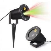 Laser LED Natalino 10w Outdoor Decoração Espeto Jardim N2