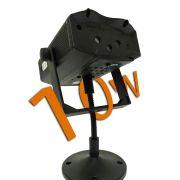 Laser Projetor Holográfico natalino 10w Stage Lighting Slim (Tecnologia Epson)