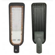 Luminária Led 300w Smd Ip67 Bivolt Para Poste Externo Cinza