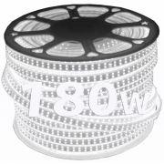 Mangueira de Led dupla 180w chata 100m branca Fria 110v Ultra Intensidade a prova d'água