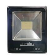 Refletor Led 100W SMD 6500K Branco Frio Bivolt IP67 resistente à água