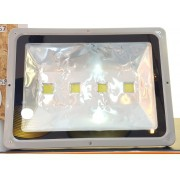 Refletor 200w Super Led Holofote Bivolt  Branco Frio 4 Chips (Pequenas Ranhuras)