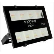 Refletor colmeia Microled 200w Rgb IP66