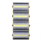 Refletor de Led Linear para Campo | Quadra 400W IP68 Flood Light - Direcionável Modelo 2021