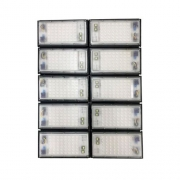 Refletor de Led para Campo | Quadra 1000W IP68 Flood Light 10 Módulos Number One Modelo 2021