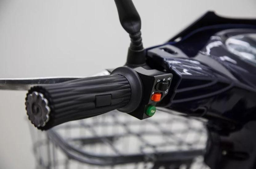 Bicicleta Elétrica 350w 48v 12ah Eco Bike Pequenas Ranhuras