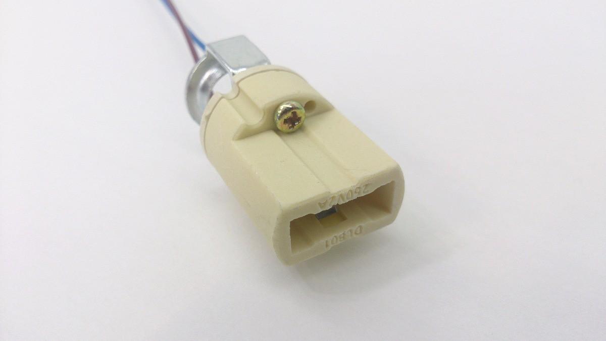 Bocal Adaptador Soquete Para Lampada G9 Halopin Rabicho