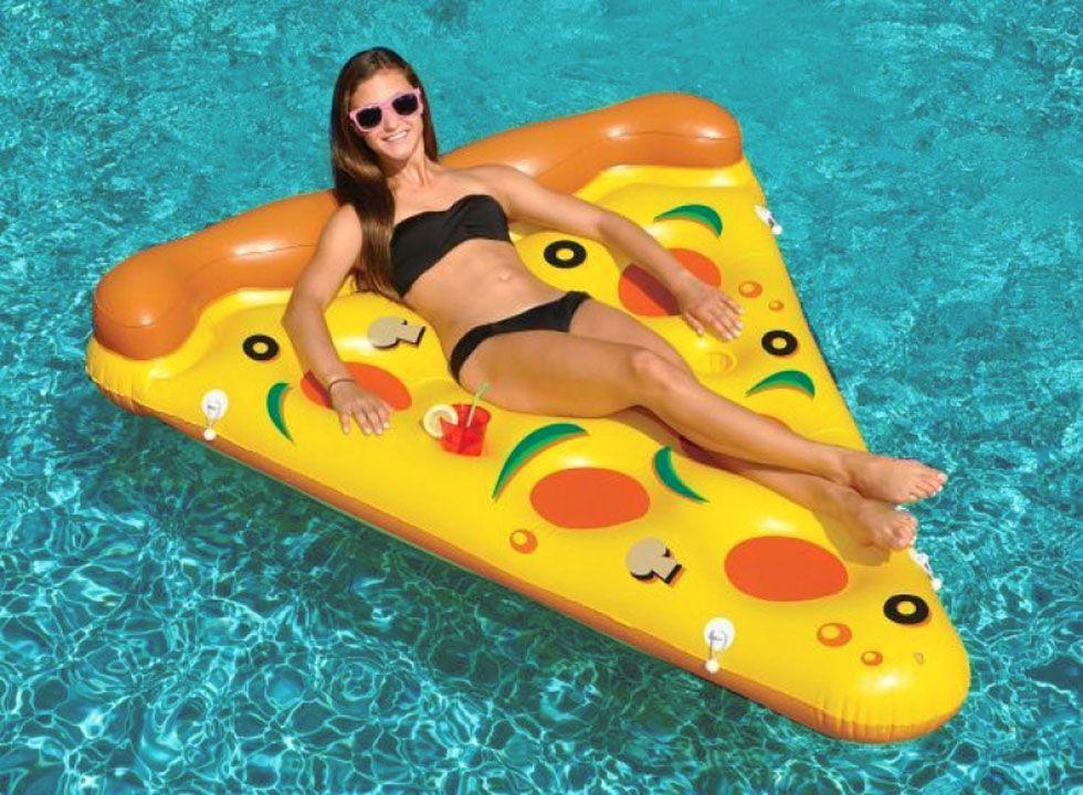 Boia inflável especial gigante - pizza slice