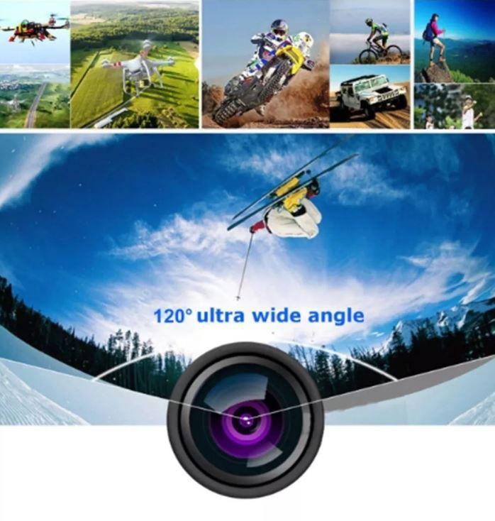 Câmera Action Go Cam Pro Sport Ultra 4k Wi-Fi